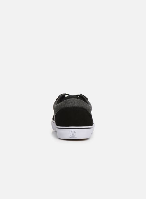 Trainers Element Wasso Black view from the right