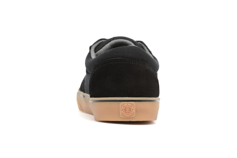 Sneaker Element Wasso schwarz ansicht von rechts