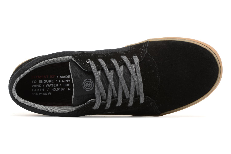 Sneaker Element Wasso schwarz ansicht von links