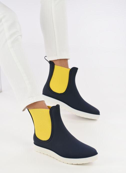 Bottines et boots SARENZA POP OMANDY Bleu vue bas / vue portée sac