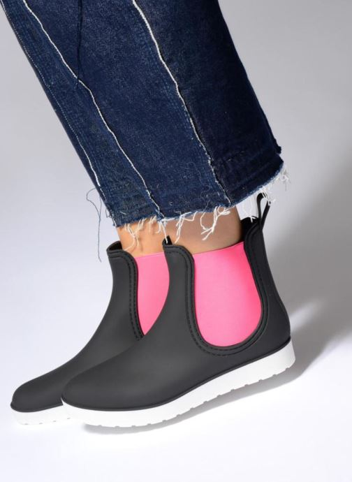 Ankle boots SARENZA POP OMANDY Blue view from underneath / model view