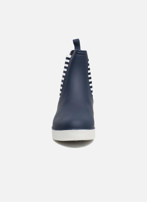 Ankle boots SARENZA POP OMANDY Blue model view