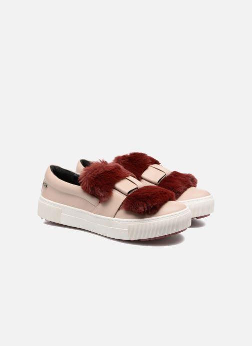 Karl Lagerfeld Luxor Kup PomBow Slip On (Rose) - Baskets chez  (298748)