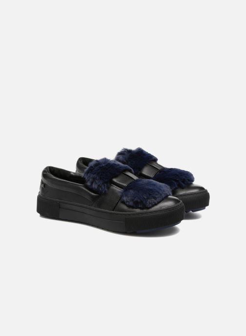 Sneakers Karl Lagerfeld Luxor Kup PomBow Slip On Nero immagine 3/4