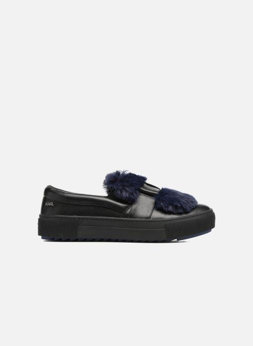 Sneakers Karl Lagerfeld Luxor Kup PomBow Slip On Nero immagine posteriore