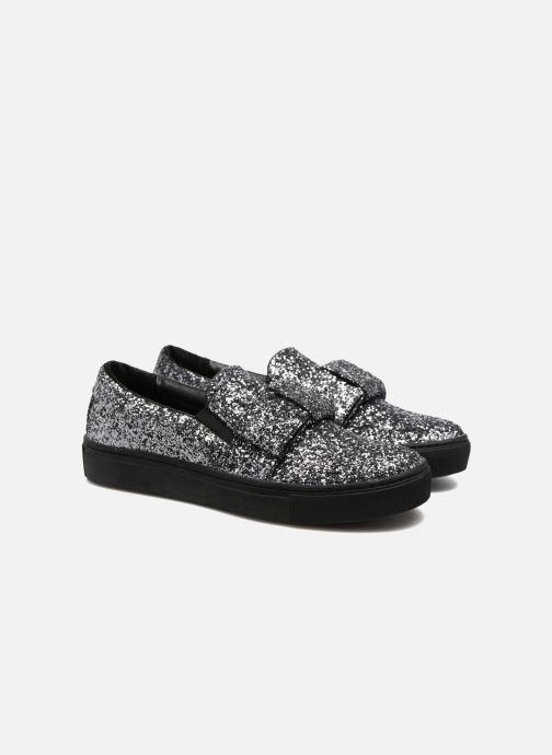 Sneakers Karl Lagerfeld Kupsole Bow Slip On Grigio immagine 3/4