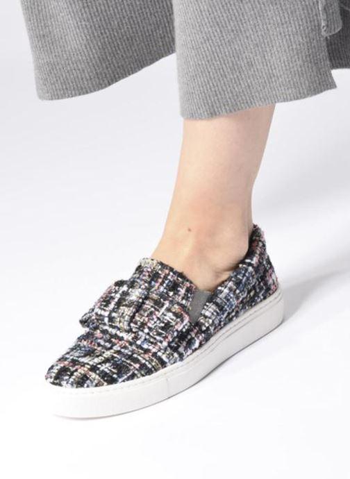 Sneakers Karl Lagerfeld Kupsole Bow Slip On Grigio immagine dal basso