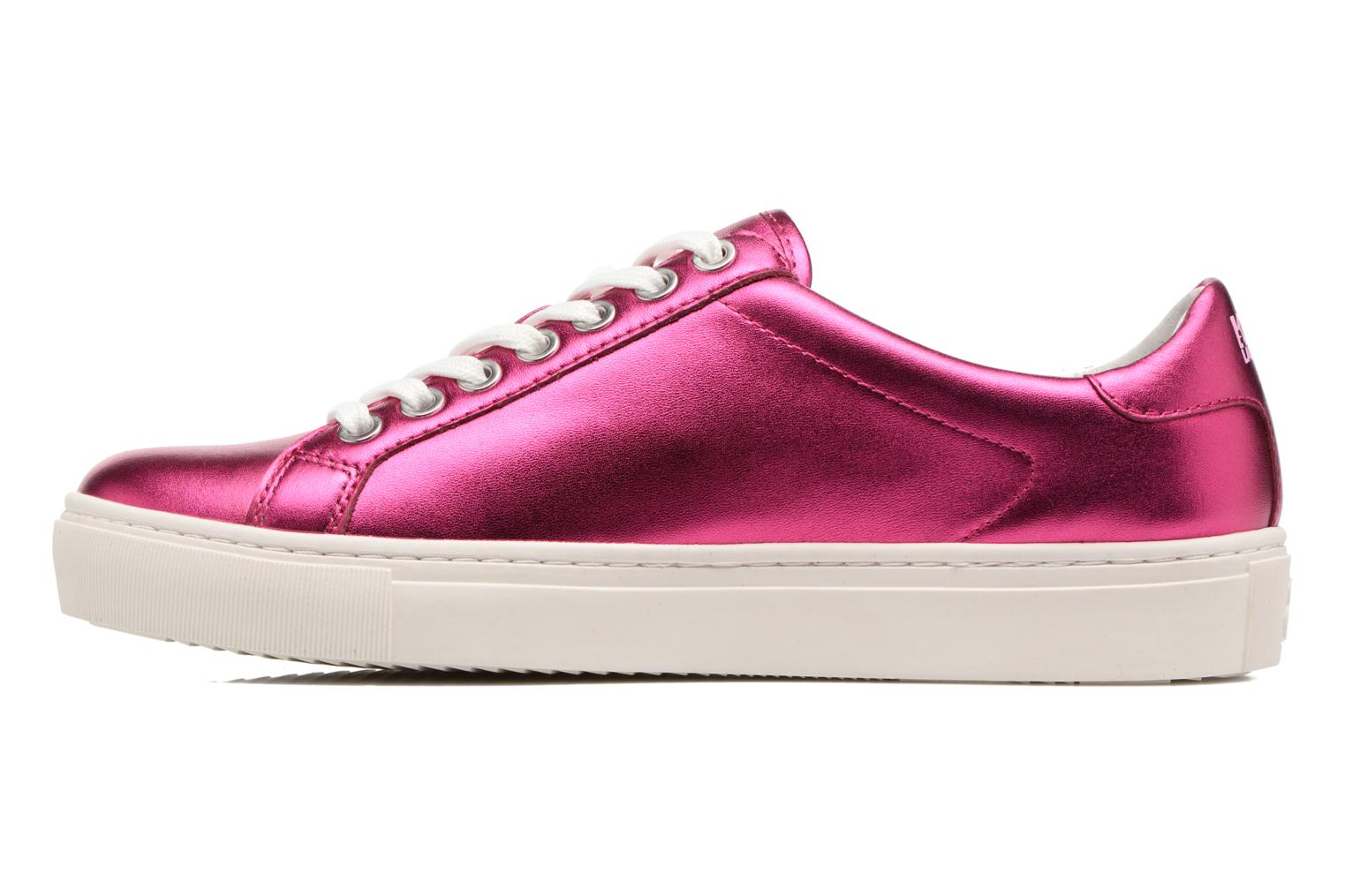 Trainers KARL LAGERFELD Kupsole Karl Ikonik Lo Lace Pink front view