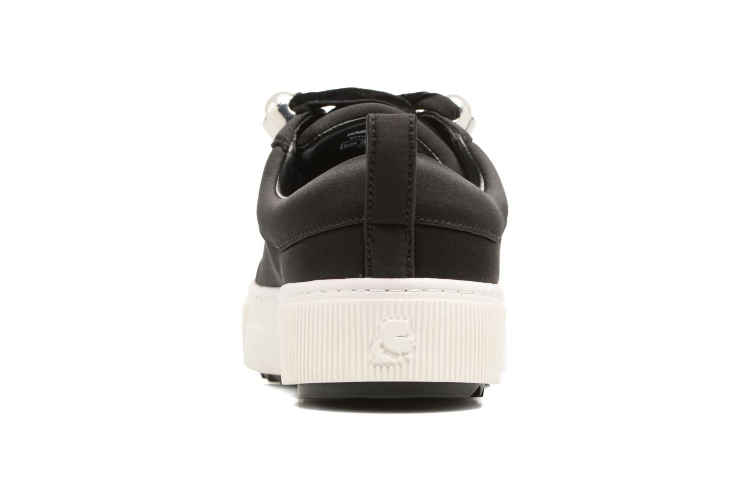 Trainers KARL LAGERFELD Luxor Kup Lace Shoe Black view from the right