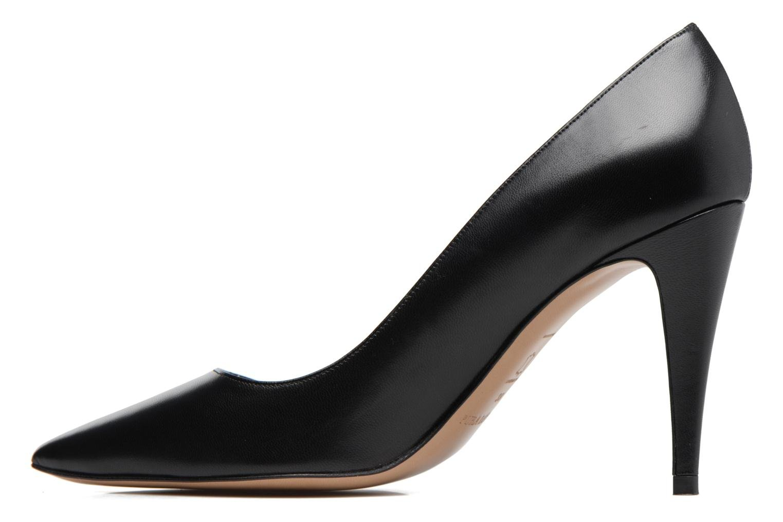 High heels Pura Lopez ZAAK117 Black front view