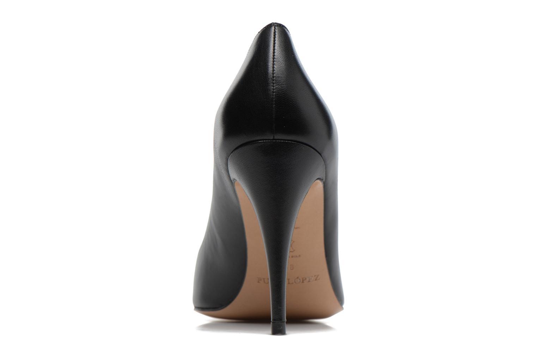 Zapatos de tacón Pura Lopez ZAAK117 Negro vista lateral derecha