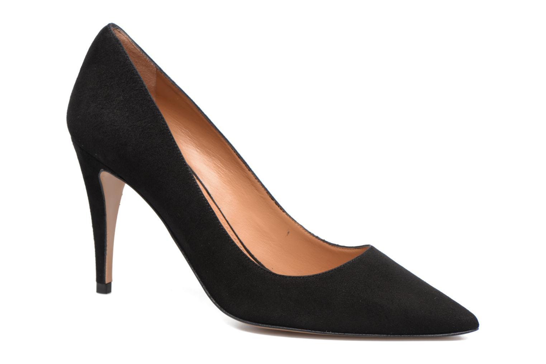 Høje hæle Pura Lopez ZAAK117 Sort detaljeret billede af skoene