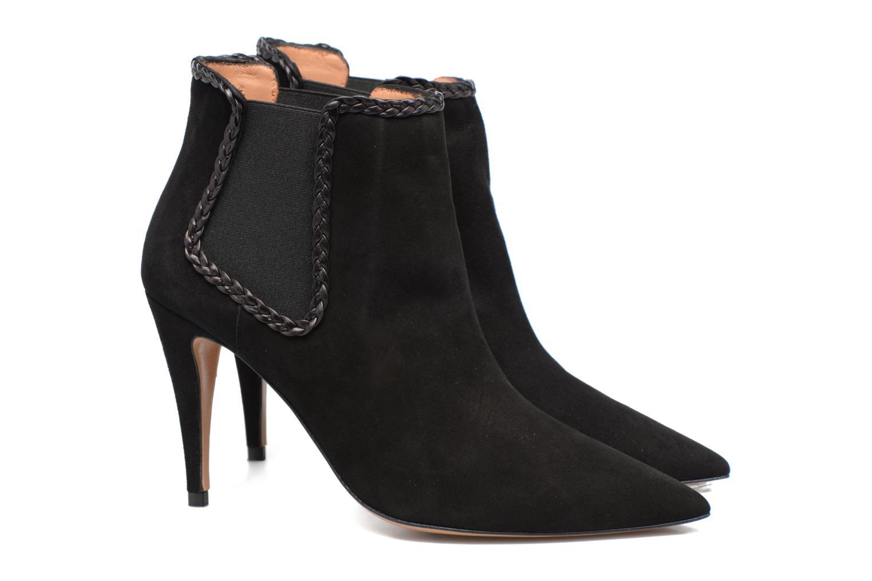 Boots en enkellaarsjes Pura Lopez BNAL160B Zwart 3/4'
