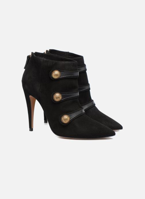 Bottines et boots Pura Lopez BNAL134 Noir vue 3/4
