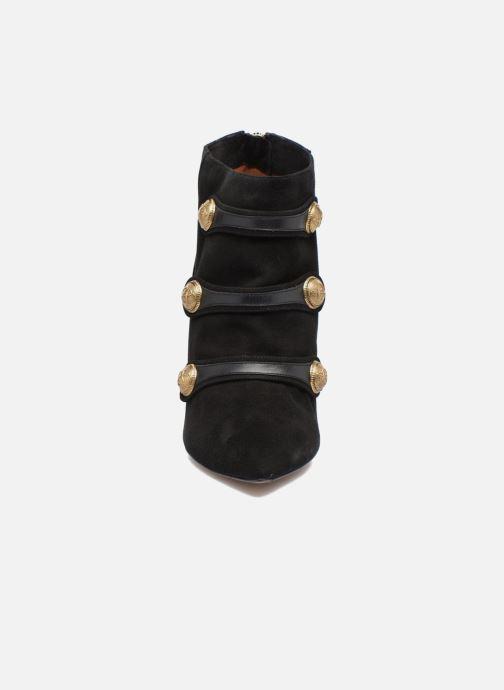 Botines  Pura Lopez BNAL134 Negro vista del modelo