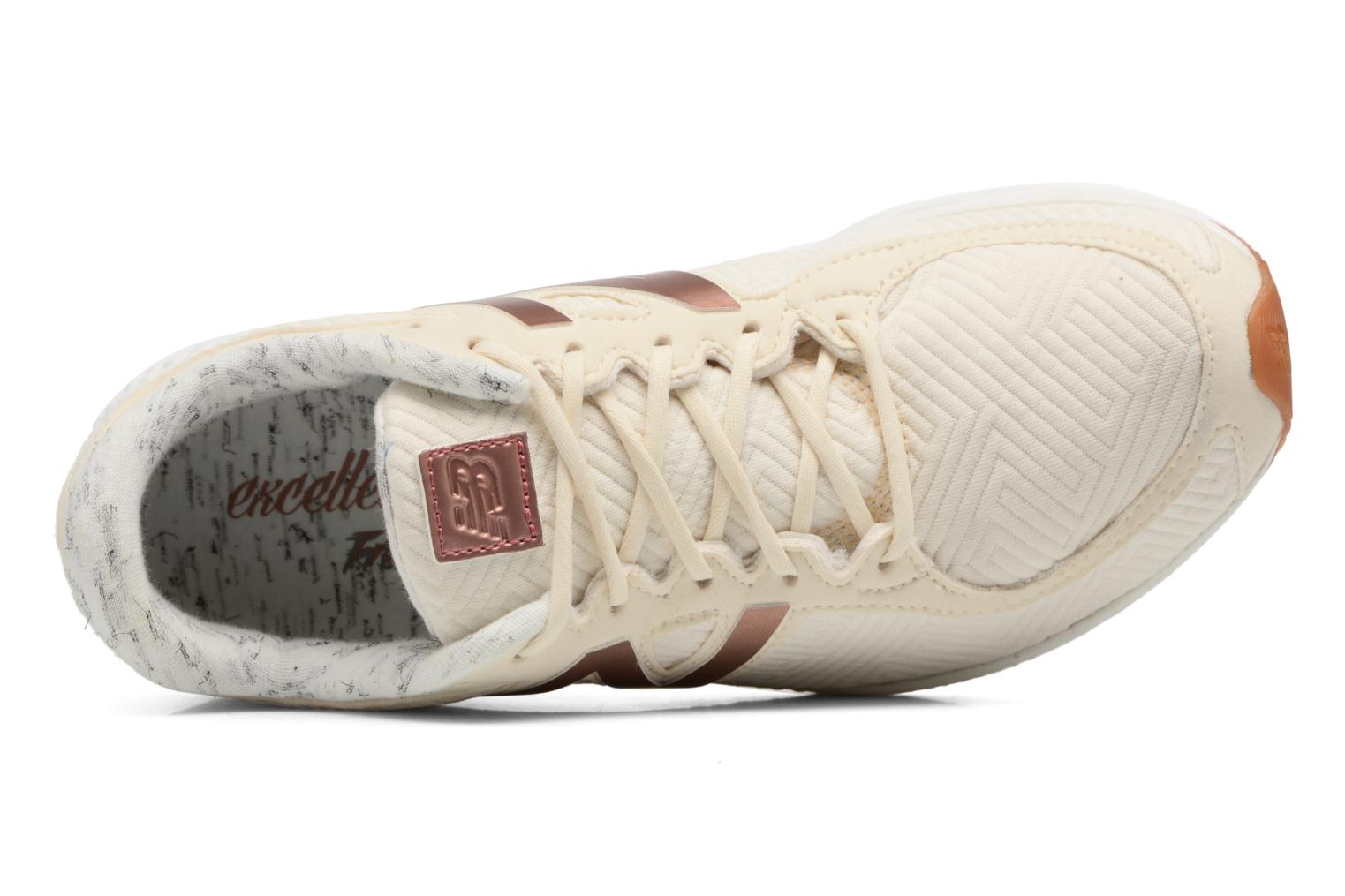 Trainers New Balance WLZANT B White view from the left