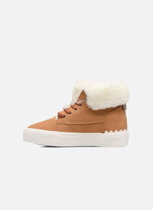 Sneaker I Love Shoes THULYE braun ansicht von vorne