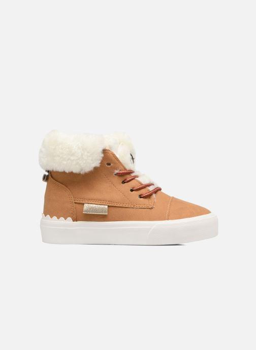Sneaker I Love Shoes THULYE braun ansicht von hinten