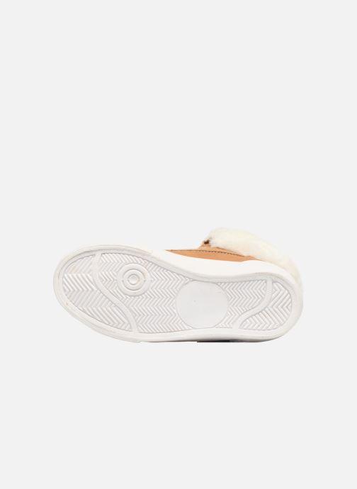 Sneaker I Love Shoes THULYE braun ansicht von oben