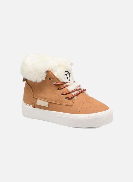 Baskets I Love Shoes THULYE Marron vue détail/paire