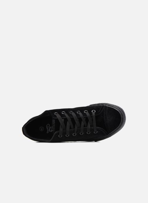 Baskets I Love Shoes THYSAL Noir vue gauche