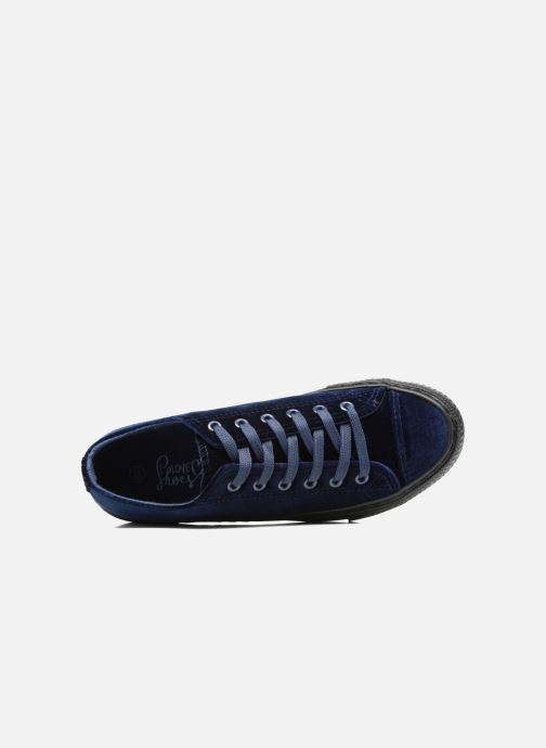 Sneaker I Love Shoes THYSAL blau ansicht von links