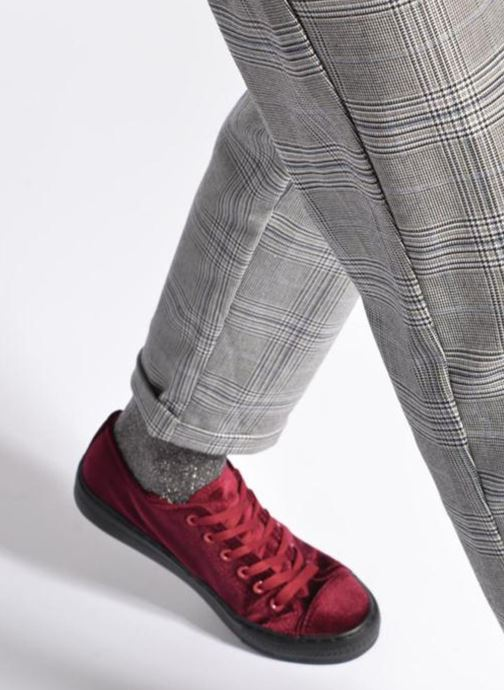 Trainers I Love Shoes THYSAL Burgundy view from underneath / model view