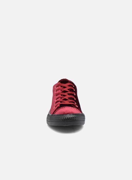 Baskets I Love Shoes THYSAL Bordeaux vue portées chaussures