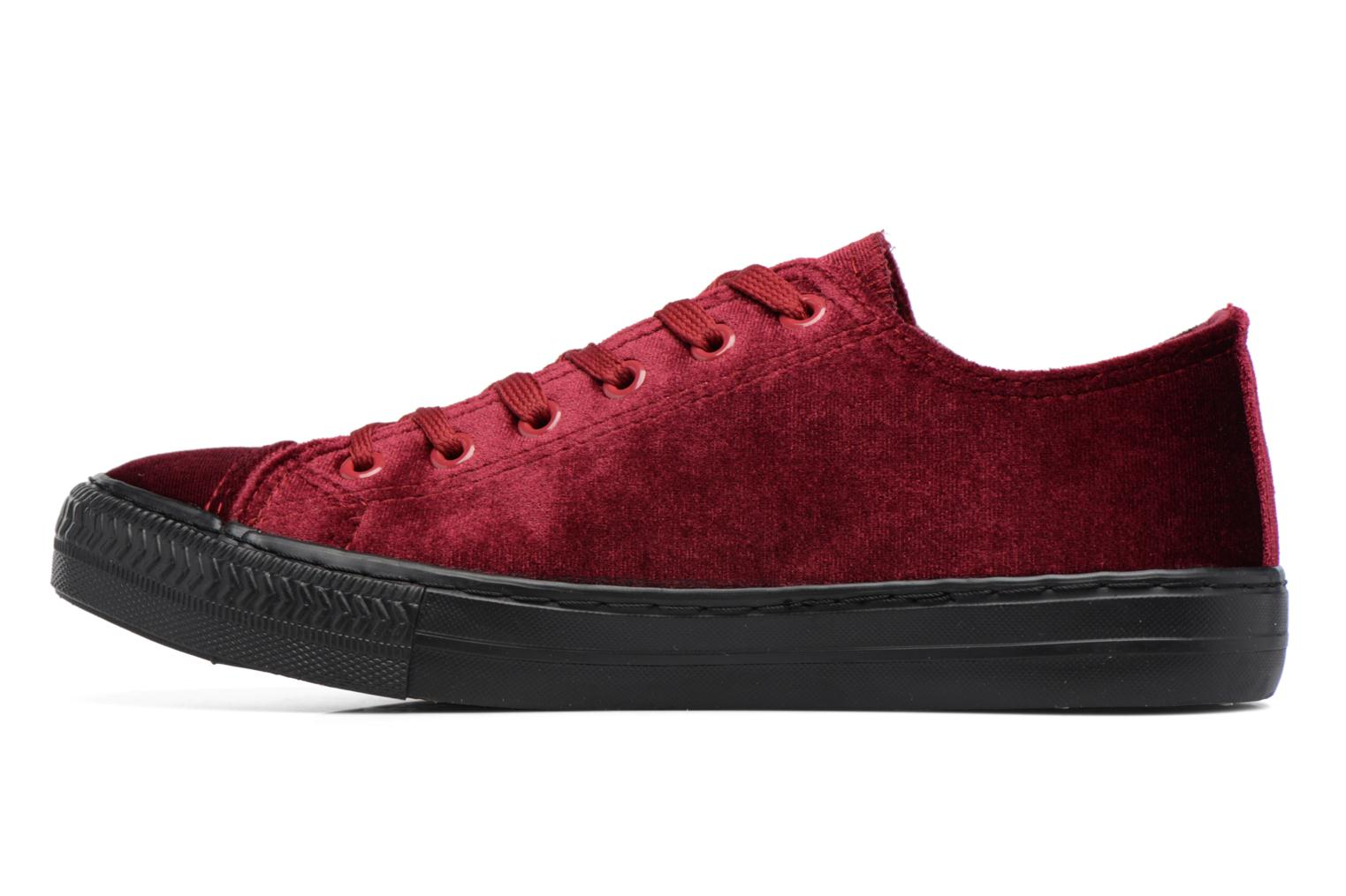 Trainers I Love Shoes THYSAL Burgundy front view