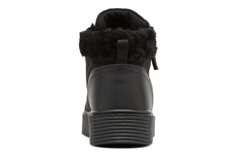 Baskets I Love Shoes THEMO Noir vue droite