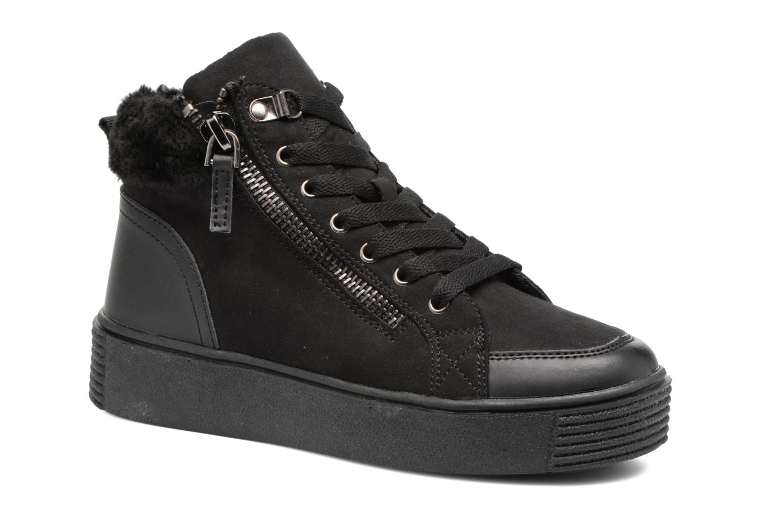 Deportivas I Love Shoes THEMO Negro vista de detalle / par