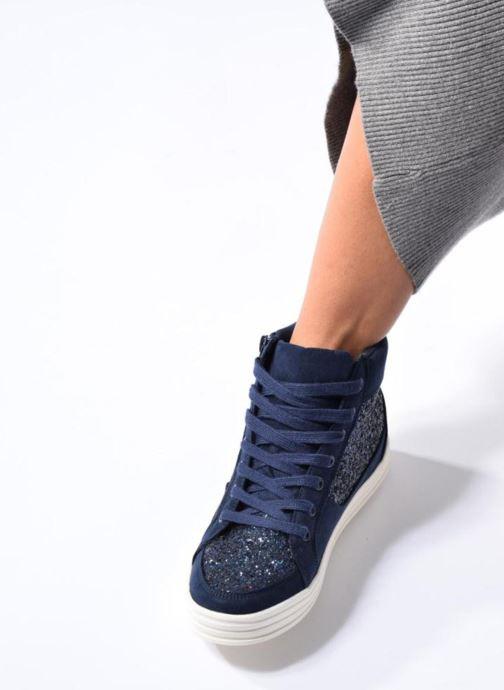 Deportivas I Love Shoes THALEP Negro vista de abajo