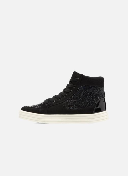 I Love Thalep Glitter Baskets Black Shoes HI92ED