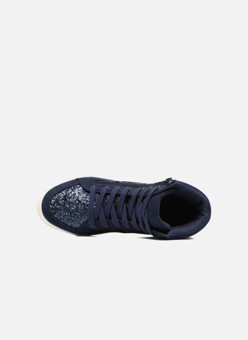 Sneaker I Love Shoes THALEP blau ansicht von links