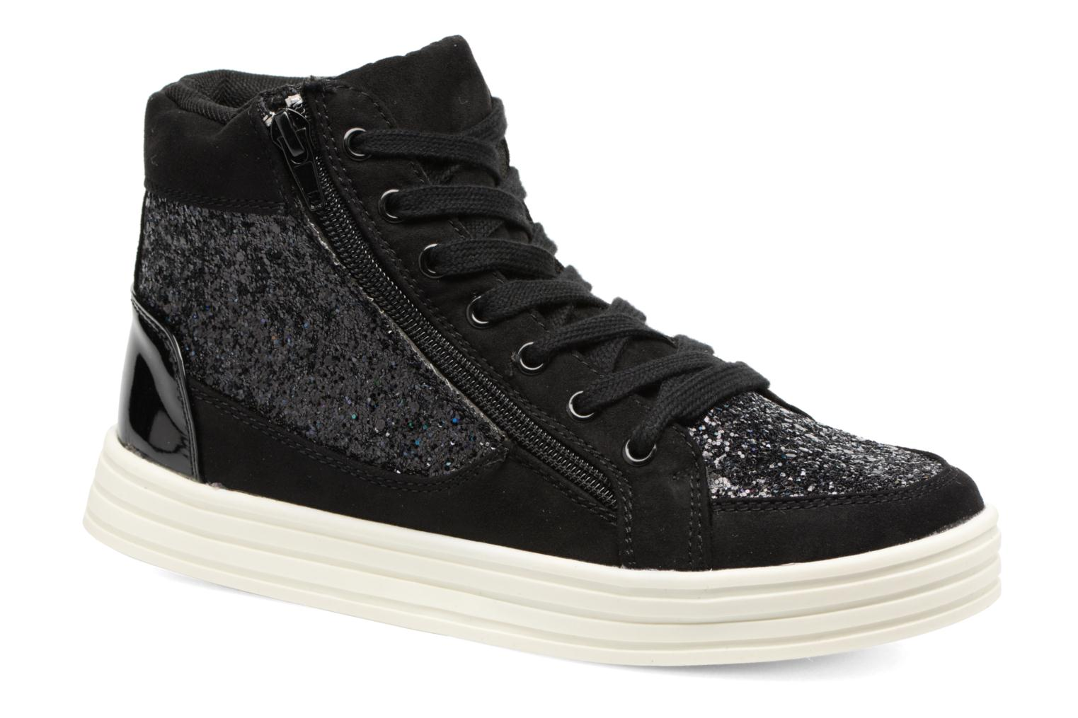 Baskets I Love Shoes THALEP Noir vue détail/paire