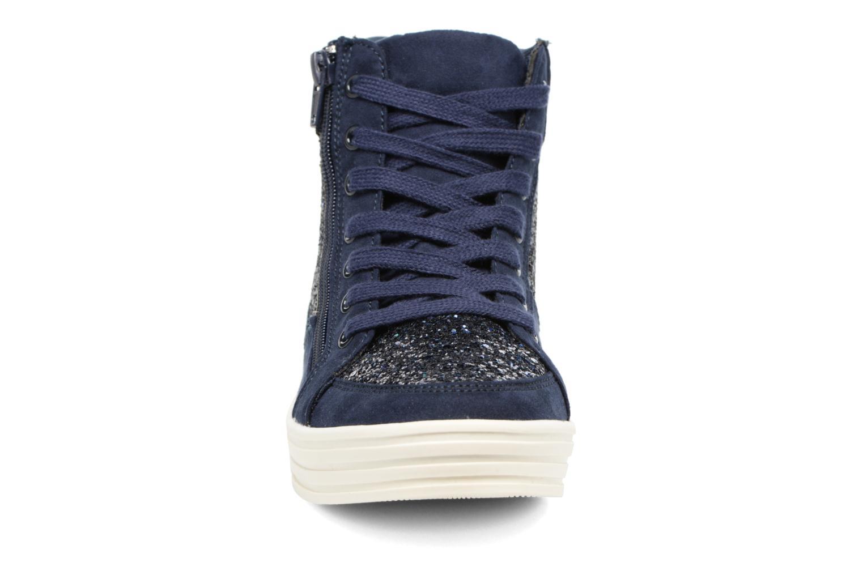 Baskets I Love Shoes THALEP Bleu vue portées chaussures