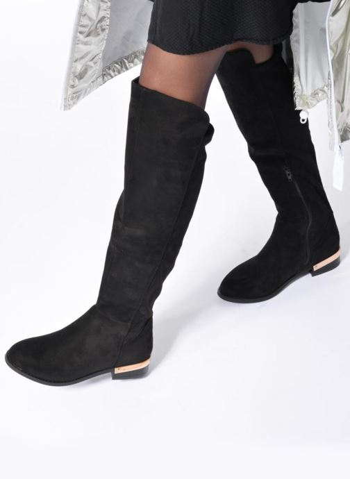 Boots & wellies I Love Shoes THIANA Black view from underneath / model view