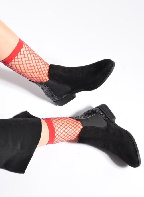 Bottines et boots I Love Shoes THENAR Bleu vue bas / vue portée sac