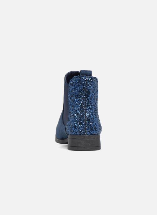Botines  I Love Shoes THENAR Azul vista lateral derecha
