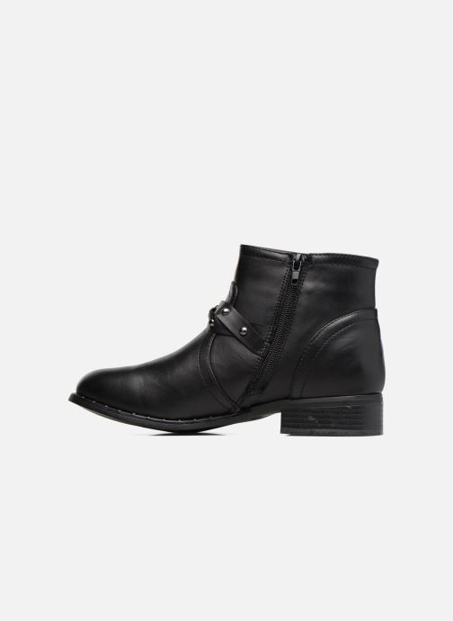 Ankle boots I Love Shoes THIMET Black front view