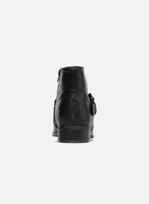 Ankle boots I Love Shoes THIMET Black view from the right