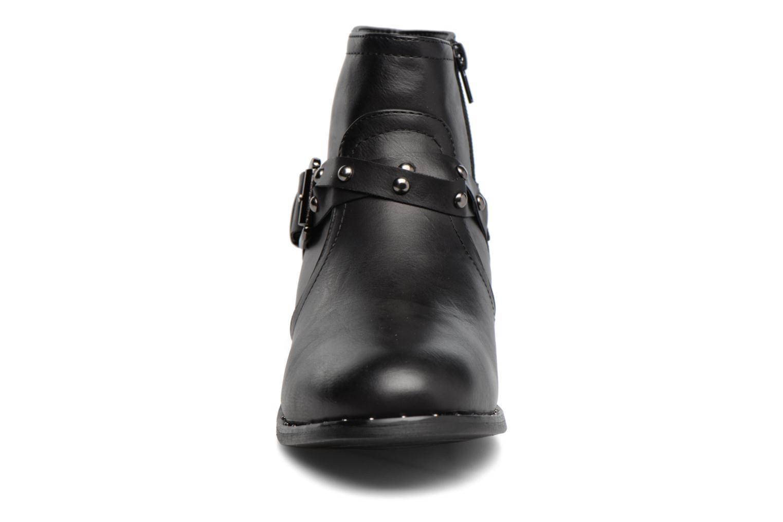 Stivaletti e tronchetti I Love Shoes THIMET Nero modello indossato