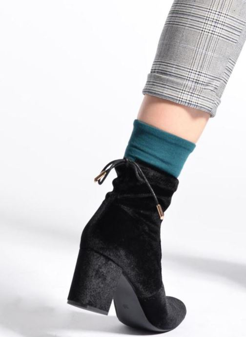 Stivaletti e tronchetti I Love Shoes THRESSY Azzurro immagine dal basso