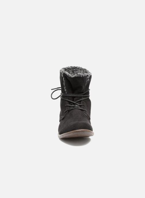 Stivaletti e tronchetti I Love Shoes THABLEAU Fourrée Nero modello indossato