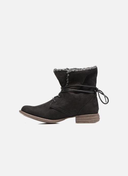 Stivaletti e tronchetti I Love Shoes THABLEAU Fourrée Nero immagine frontale