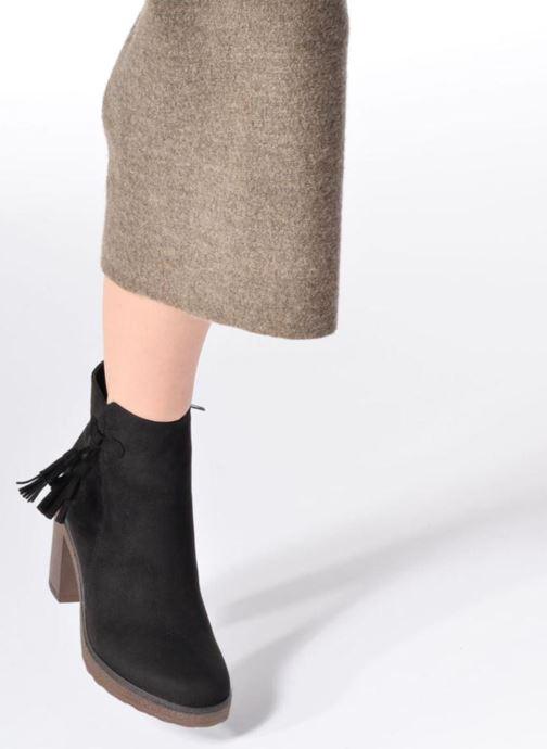 Bottines et boots I Love Shoes THALUS Marron vue bas / vue portée sac
