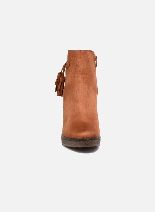 Bottines et boots I Love Shoes THALUS Marron vue portées chaussures