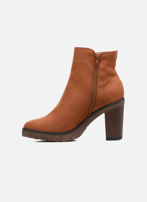 Ankle boots I Love Shoes THALUS Brown front view