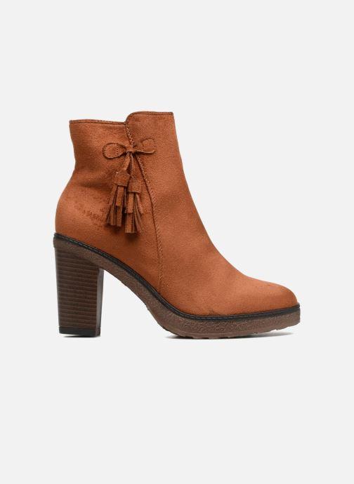 Boots en enkellaarsjes I Love Shoes THALUS Bruin achterkant