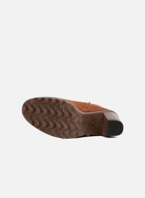 Bottines et boots I Love Shoes THALUS Marron vue haut